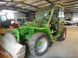 Various utilities Merlo Telescopic forklift p28-7k Occasion
