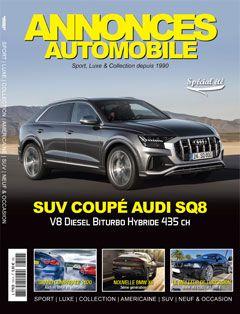 Magazine Annonce Automobile Aout/Septembre 2019 couverture