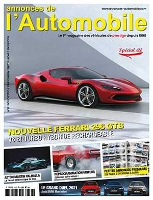 Couverture du N°337 Aout / Septembre 2021 de Annonces-Automobile
