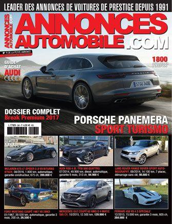 Magazine Annonce Automobile Avril 2017 couverture