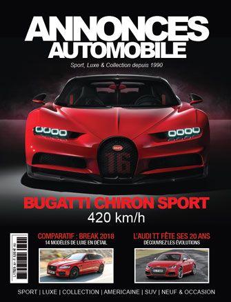 Magazine Annonce Automobile Avril 2018 couverture