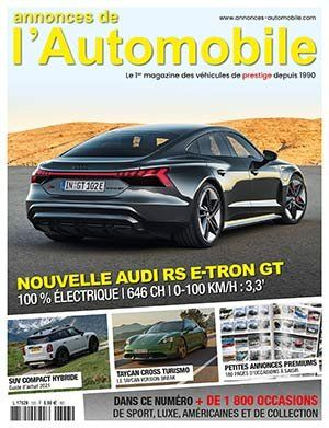 Couverture du N°333 Avril 2021 de Annonces-Automobile