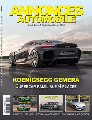 Couverture du N°323 Avril/Mai 2020 de Annonces-Automobile