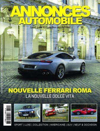 Couverture du N°319 Décembre 2019 de Annonces-Automobile