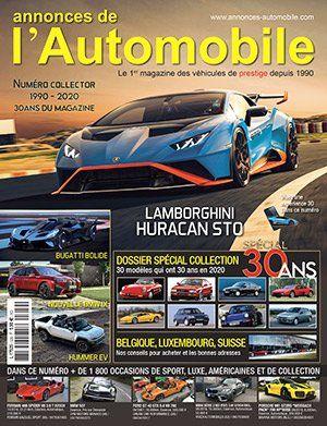 Couverture du N°329 Décembre 2020 de Annonces-Automobile