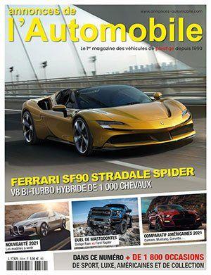 Couverture du N°330 Janvier 2021 de Annonces-Automobile