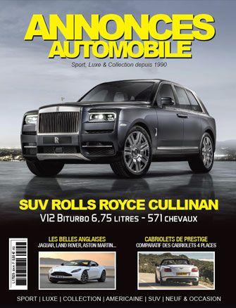 Magazine Annonce Automobile Juillet 2018 couverture