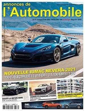 Couverture du N°336 Juillet 2021 de Annonces-Automobile