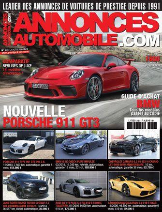 Magazine Annonce Automobile Juin 2017 couverture