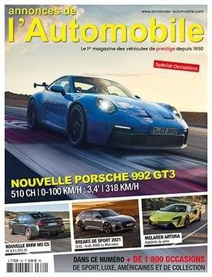 Couverture du N°332 Mars 2020 de Annonces-Automobile