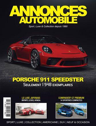 Magazine Annonce Automobile Novembre 2018 couverture
