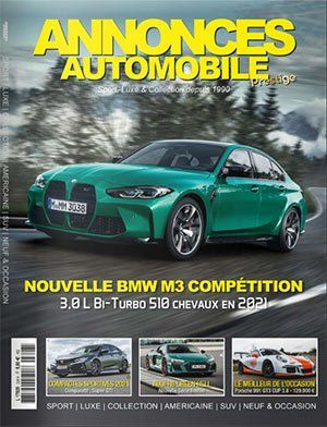 Couverture du N°328 Novembre 2020 de Annonces-Automobile