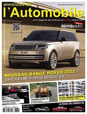 Couverture du N°339 Novembre 2021 de Annonces-Automobile