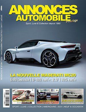Couverture du N°327 Octobre 2020 de Annonces-Automobile