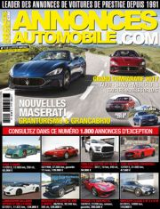 Magazine Annonces Automobile Aout / Septembre 2017