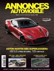 Magazine Annonces Automobile Aout/Septembre 2018