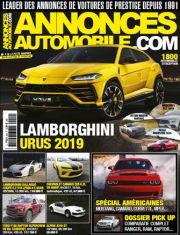 Magazine Annonces Automobile Janvier 2018