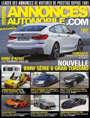 Magazine Annonces Automobile Juillet 2017